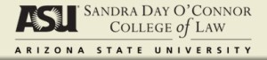 ASU Sandra Day O'Connor College of Law logo