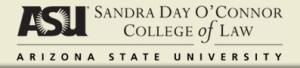 ASU Sandra Day O'Connor College of Law logo