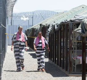 tent city jail word El paso county sheriff richard wiles has banned deputies from working off-duty security at the tent city for immigrant children in tornillo  teen in jail on $100,000 bond in girl's death.
