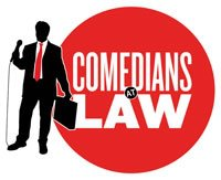 Comedians at Law logo