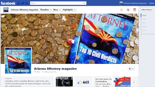 Facebook Screen shot June 2012