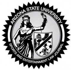 ASU Sports and Entertainment Law logo