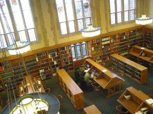 Yale Law School Library Reading Room