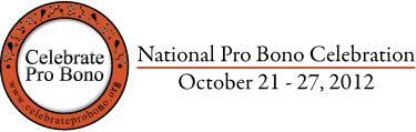 National Pro Bono Celebration logo 2012