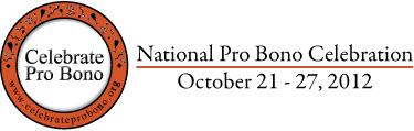 National Pro Bono Celebration logo 2012