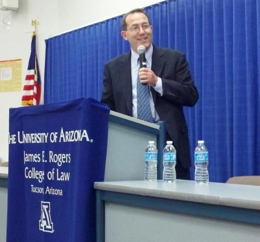 UA Dean Marc L. Miller