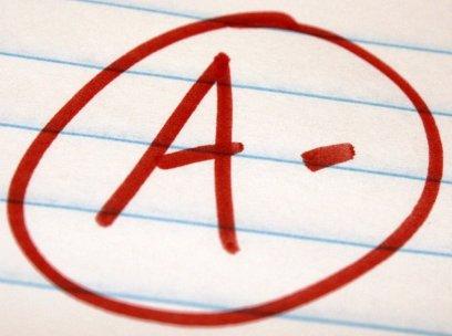 Grade A minus