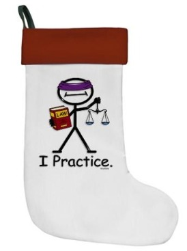 holiday lawyer stocking