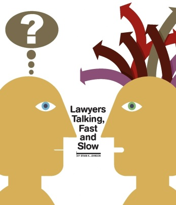Lawyers Talking article Jan 2013 by Brian K. Johnson