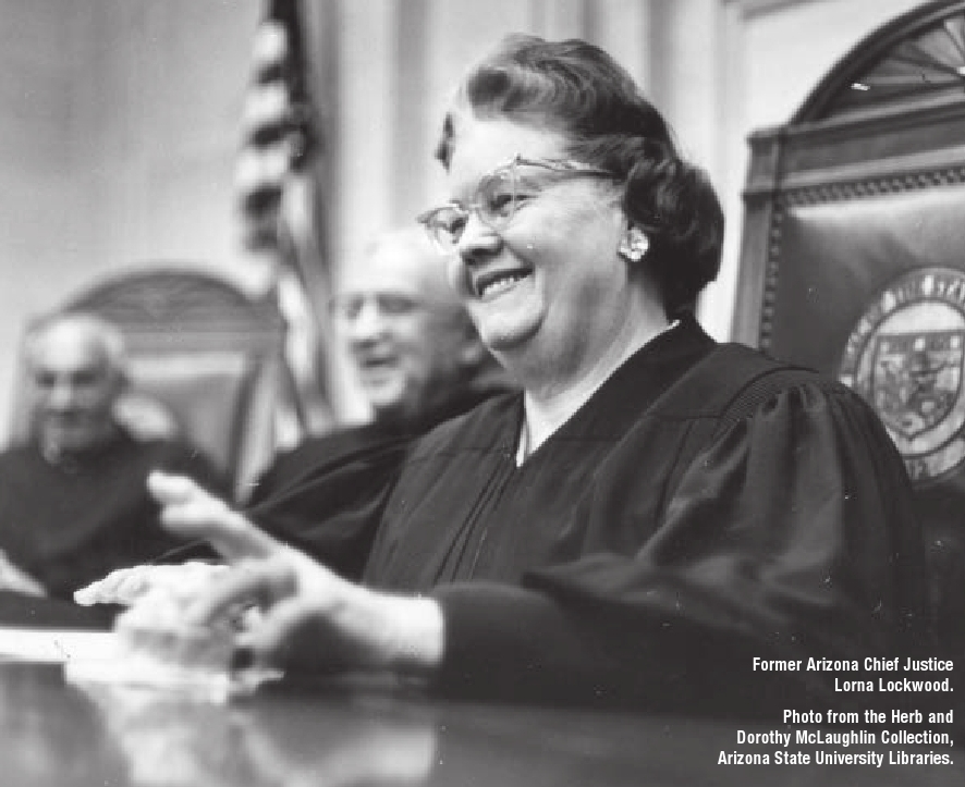 The Book Lady Law Examines Justice Lorna Lockwood, Reviewed in Arizona Attorney (1/2)