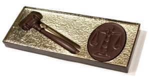 chocolate gavel and Scales_of_Justice Valentine