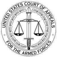 Court of Appeals for the Armed Forces seal