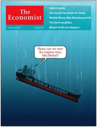 Economist sinking ship cover relates well to the legal profession