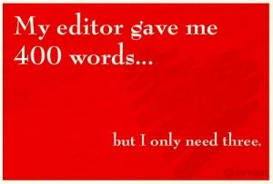 editor Valentine wish