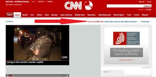CNN's Jodi Arias trial viewer-discretion warning