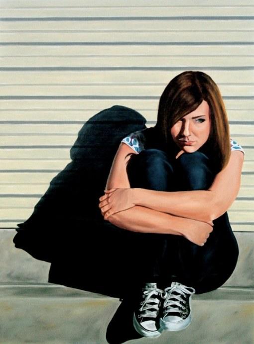 Painting by Kirk Hays