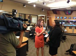 Mabel Ramirez interviewed during A Su Lado.