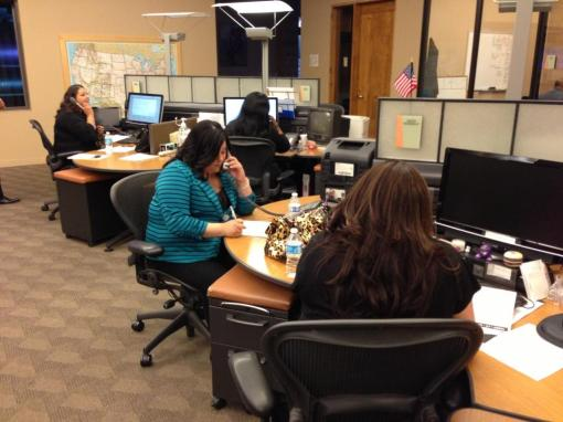 State Bar Resource Center staff take callers' questions during A Su Lado.