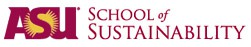 ASU School of Sustainability logo