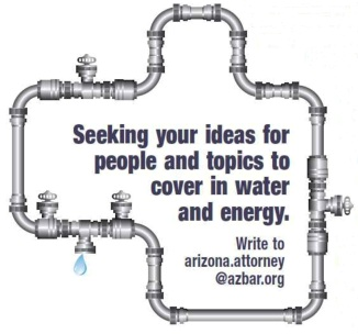Energy and water story ideas wanted