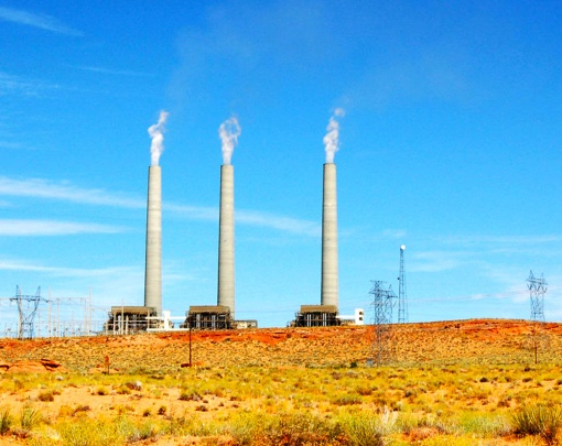 The Navajo Generating Station near Page is at the center of a legal dispute that involves the Salt River Project and the Navajo Nation.