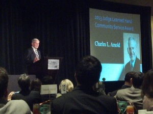 "Charles ""Chick"" Arnold, 2013 Learned Hand Awards"