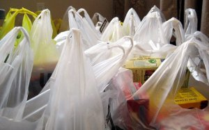One item per petroleum-based bag = a lot of plastic bags