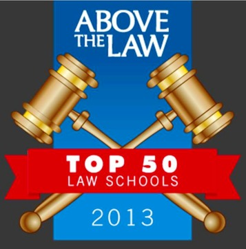 Above the Law law school rankings 2013