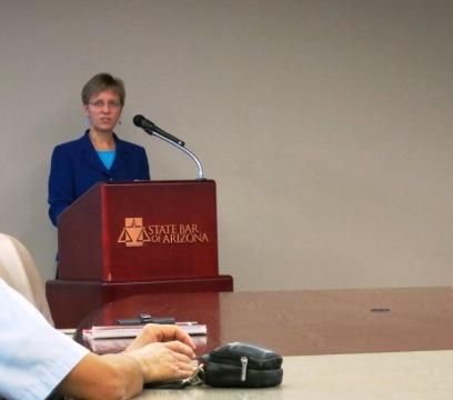 State Bar of Arizona President Amelia Craig Cramer, May 10, 2013