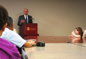 State Bar of Arizona CEO John Phelps, May 10, 2013