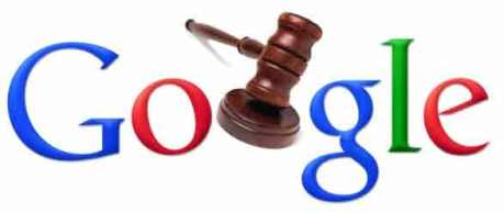 google logo law gavel