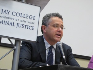 Jeffrey Toobin at John Jay College