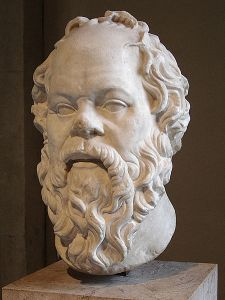Socrates and his big male brain