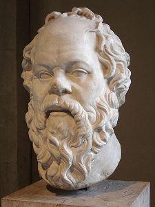 Socrates and his big male brain