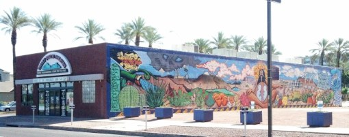 Valley Youth Theatre downtown Phoenix with mural