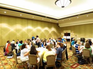 Attendees at AWLA Breakfast, June 21, 2013.