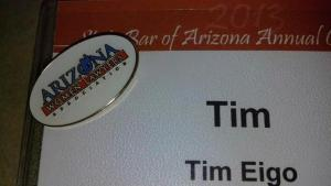 Great Convention addition: My AWLA pin