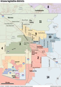 legislative maps arizona