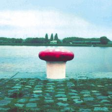 We're sprouting bollards today. Here's a mushroom one in Belgium (Wikipedia)