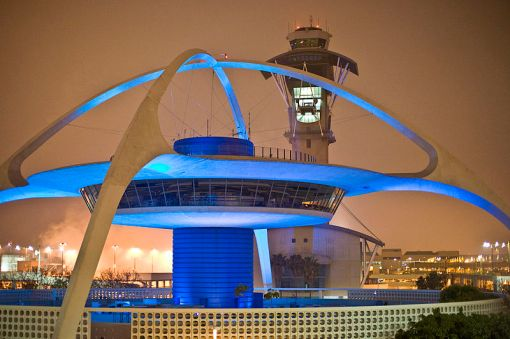 LAX Theme Building (via Wikimedia Commons)