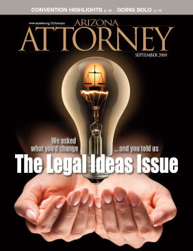 Arizona Attorney September 2010