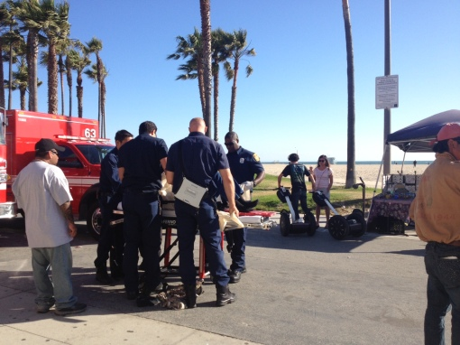 Venice Beach Segway accident, June 2013