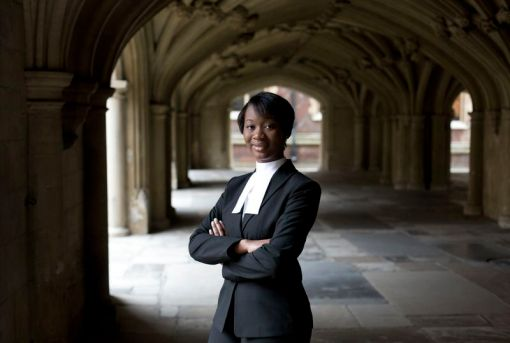 Youngest-ever barrister Gabrielle Turnquest. How old? She was able to buy a pint just this year.