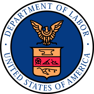 Labor Day US Department of Labor seal