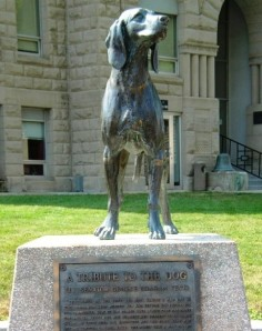 Old_Drum_dog Statue cropped