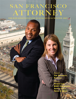 San Francisco Attorney Magazine cover