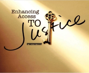 Access to justice can be golden: Arizona Attorney Magazine opening image for a story on the topic by former State Bar of Arizona President Amelia Craig Cramer, Oct. 2012.