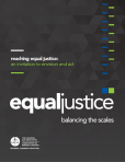 Canadian Bar Association equal justice cover 2013