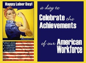 Labor Day 2013 Rosie the Riveter