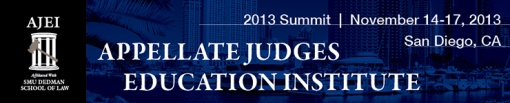 AJEI logo Appellate Judges Education Institute